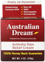 oz health arthritis pain relief cream ingredients