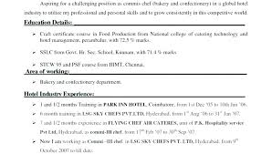 Hospitality Resume Templates Hotel Manager Resume Sample A ...