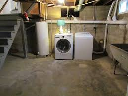 basement laundry room. i took a lamp that couldnu0027t sell in our garage sale u003d goodwill find shade target clearance little bit of greenery and added it to basement laundry room y