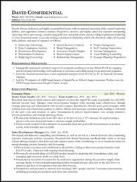 resume samples types of resume formats examples and templates best executive resume format