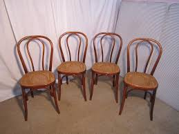 bentwood bistro chair. Set Of 4 French Bistro Or Cafe Bentwood Chairs Chair C