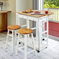 Arts and Crafts Breakfast Cart with Drop-leaf Table - Free Shipping Today -  Overstock.com - 19930999