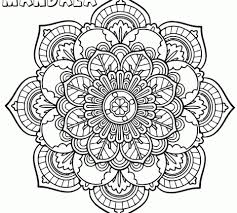 Mandala Coloring Pages Pdf Photo Inspirations Book And Colouring