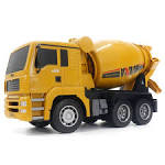<b>HUINA 1333 6CH Die-Cast</b> Alloy Remote Control Mixer Engineering ...