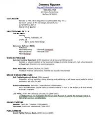 Fresh Out Of High School Resume   Samples Of Resumes for Fresh Out Of High  School