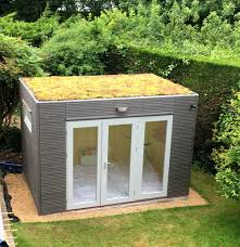 home office garden building. Green Roofed Garden Office Home Building R
