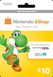 Digital card balances can be shared across nintendo switch, wii u and nintendo 3ds family of systems, but may only be used on a single nintendo eshop account. Amazon Com Nintendo Yoshi Prepaid Eshop 10 For 3ds Or Wii U By Nintendo Video Games
