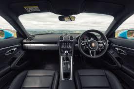 ... Porsche 2017 718 Cayman Coupe Interior Detail