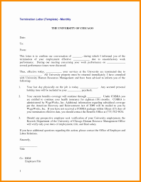 Separation Letter To Employee Template Examples Letter Template