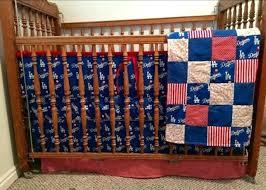 la dodgers bedding baby baseball crib set dodger nursery