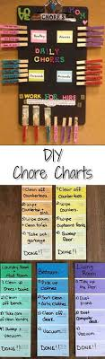 97 Best Chore Charts Kids Diy Ideas Images In 2019