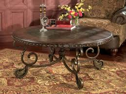 embellish your home with an ashley rafferty t382 8 round cocktail table beautifully designed with