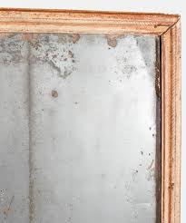 mercury glass mirror. French Mercury Glass Mirror In Fair Condition For Sale Culver City, CA 1stDibs