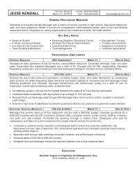 Manager Resume Samples Free District Sales Manager Resume Samples