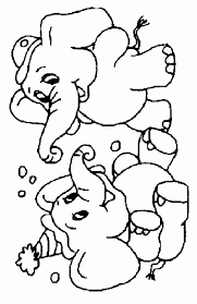 Small Picture Get This Free Printable Cute Baby Elephant Coloring Pages for Kids