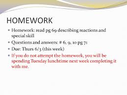 7 homework