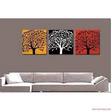 abstract paintings 3pcs canvas set modern acrylic on canvas wall art 20 60 inches large 0041 3canset190 1