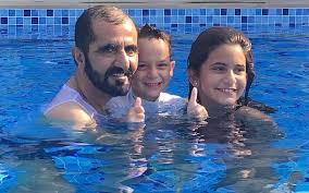 Image result for Dubai rulers wife Princess Haya