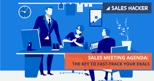 Sales Meeting Agenda Sales Meeting Agenda The Key To Fast Track Your Deals