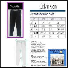 Calvin Klein Xl Size Chart Calvin Klein Black M4vkx245 Wide Compression Waistband Leggings Size 16 Xl Plus 0x 37 Off Retail