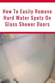 hard water spots