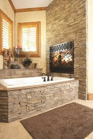 121 best stone images on modern stacked stone