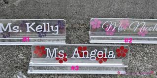 desk name plates personalized teacher gift teacher name plate classroom decor name