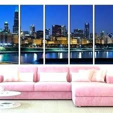 chicago wall decor skyline wall decals wall skyline wall art skyline wall decal city silhouette skyline