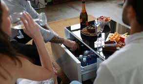 Beer Cooler Coffee Table The Amazing Coffee Table That Chills Beer And Charges Phones Is