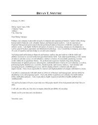 Business Systems Analyst Cover Letter Business Analyst Resume Sample ...