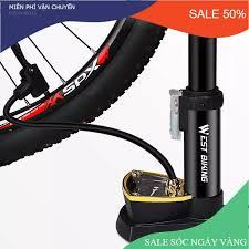 Bơm hơi xe máy mini - Bơm xe máy đạp chân loại tốt -Bảo hành 12 tháng 1 đổi  1, Bơm xe đạp xe máy có đồng hồ bơm khỏe nhanh vào hơi