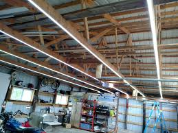 diy lighting truss. Picture Of Inexpensive Garage Lights From LED Strips Diy Lighting Truss G