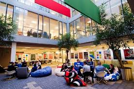 google hq office mountain view california. Google\u0027s Corporate Headquarters, Nicknamed The Googleplex, Located In Mountain View, California, Is Known For Use Of Creativity Serving Needs Google Hq Office View California