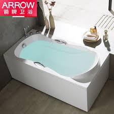 wrigley arrow bathroom acrylic five piece non slip bathtub bubble bathtub double skirt bathtub with hardware bathtub left skirt 1 6 m