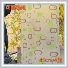 whole decorative window stained glass self adhesive glass frosted glass window stickers 45x1000cm