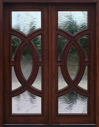 glass double door. fantastic glass double door exterior with wooden doors solid