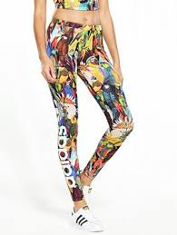 adidas leggings. adidas originals passaredo tight - multi leggings