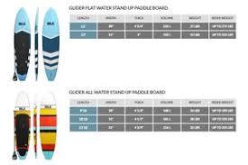 Paddle Board Size Chart Paddle Board Size Weight Chart Weight Charts Paddle