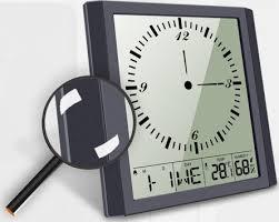 digital wall clock alarm clocks for