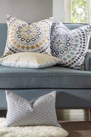 How To Use Decorative Pillows In The Living Room Overstock Com