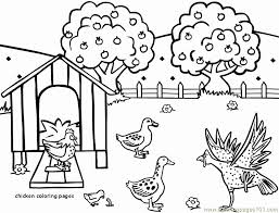 Be Quiet Coloring Page Lovely Chicken Coloring Pages Animal Coloring