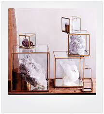 curio small glass display case for collectibles