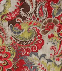 Small Picture Richloom Studio Upholstery Print Fabric 54 Plantation Cardinal