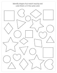Shapes Toddler Printable Worksheets Free 3d For Kindergarten ...