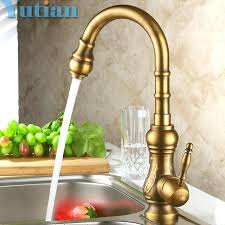 kitchen faucets bronze antique brass kitchen faucet bronze tap kitchen swivel spout vanity sink mixer