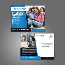 Provo Web Design Bold Playful Internet Service Provider Flyer Design For A