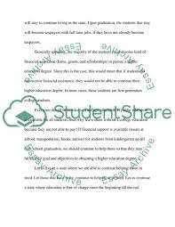 College Education Essay College Education Essay Example Topics And Well Written Essays