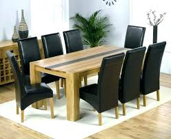 8 piece dining room set 8 piece kitchen table set 8 chair dining table set oak