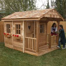 Small Picture Shop Outdoor Living Today Sunflower Wood Playhouse Kit at Lowescom