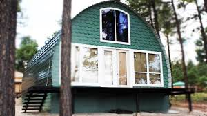 24' x 32' Arched Cabin | Amazing Small House Design
